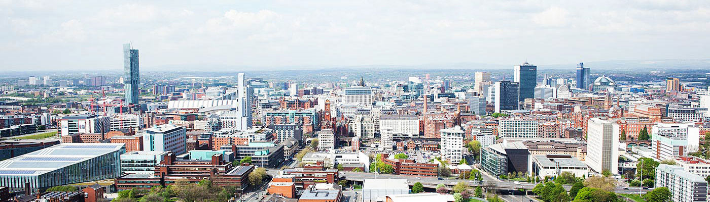 A view across Manchester
